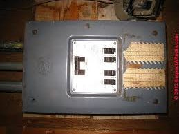 replace electrical panel
